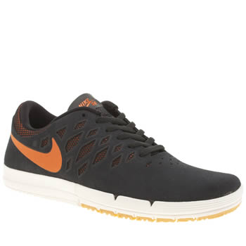 Mens Nike Skateboarding Navy & Orange Free Sb Trainers