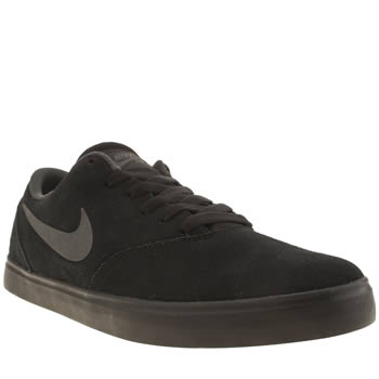 Nike Skateboarding Black & Grey Check Trainers
