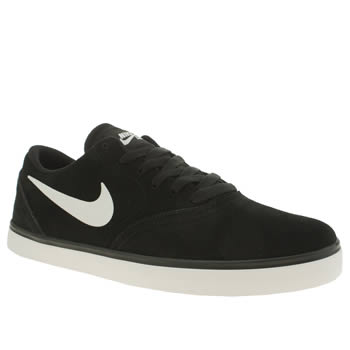 Nike Skateboarding Black & White Check Trainers