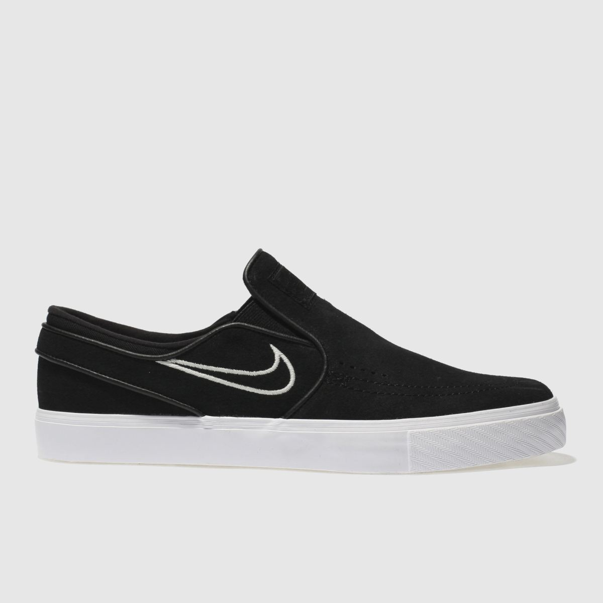 Nike Sb Black Zoom Janoski Slip Trainers