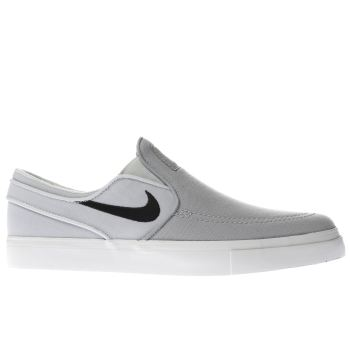 Nike Sb Grey Zoom Janoski Slip-On Mens Trainers
