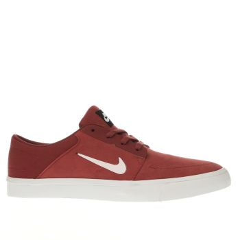Nike Sb Red Portmore Trainers
