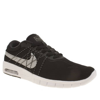 Nike Sb Black & Grey Koston Max Trainers