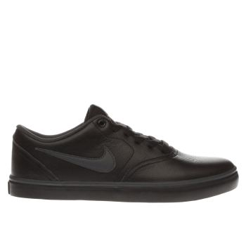 Nike Sb Black & Grey Check Solar Premium Mens Trainers