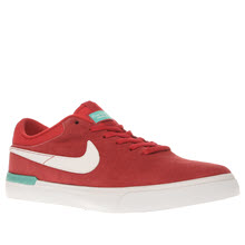 Nike Sb Red Koston Hypervulc Mens Trainers