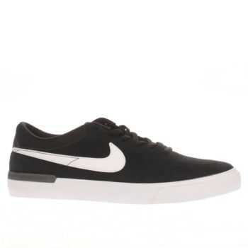 Nike Sb Black & White Koston Hypervulc Mens Trainers