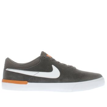 Nike Sb Dark Grey Koston Hypervulc Mens Trainers