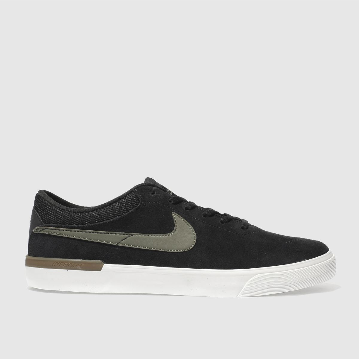 Nike Sb Black & Green Koston Hypervulc Trainers