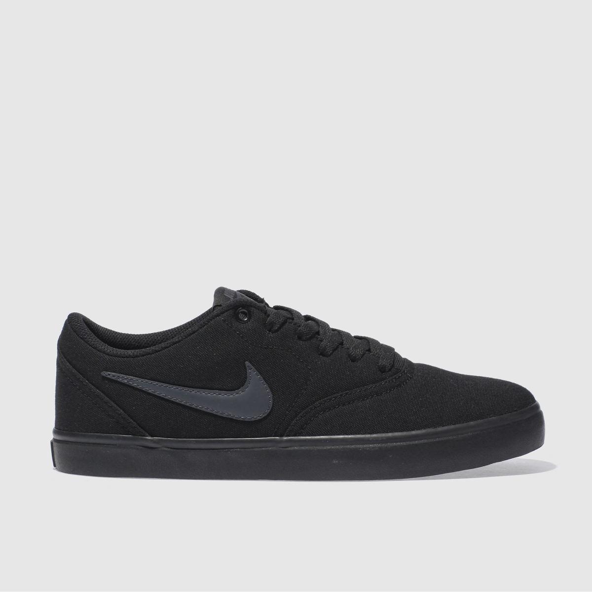 Nike Sb Black Check Solarsoft Trainers