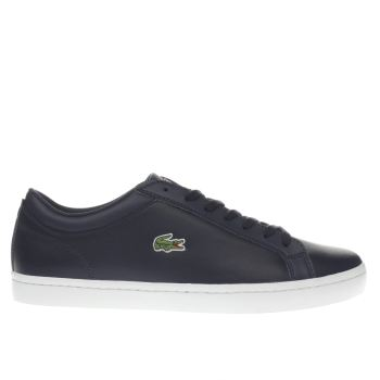 Lacoste Navy Straightset Bl 1 Mens Trainers