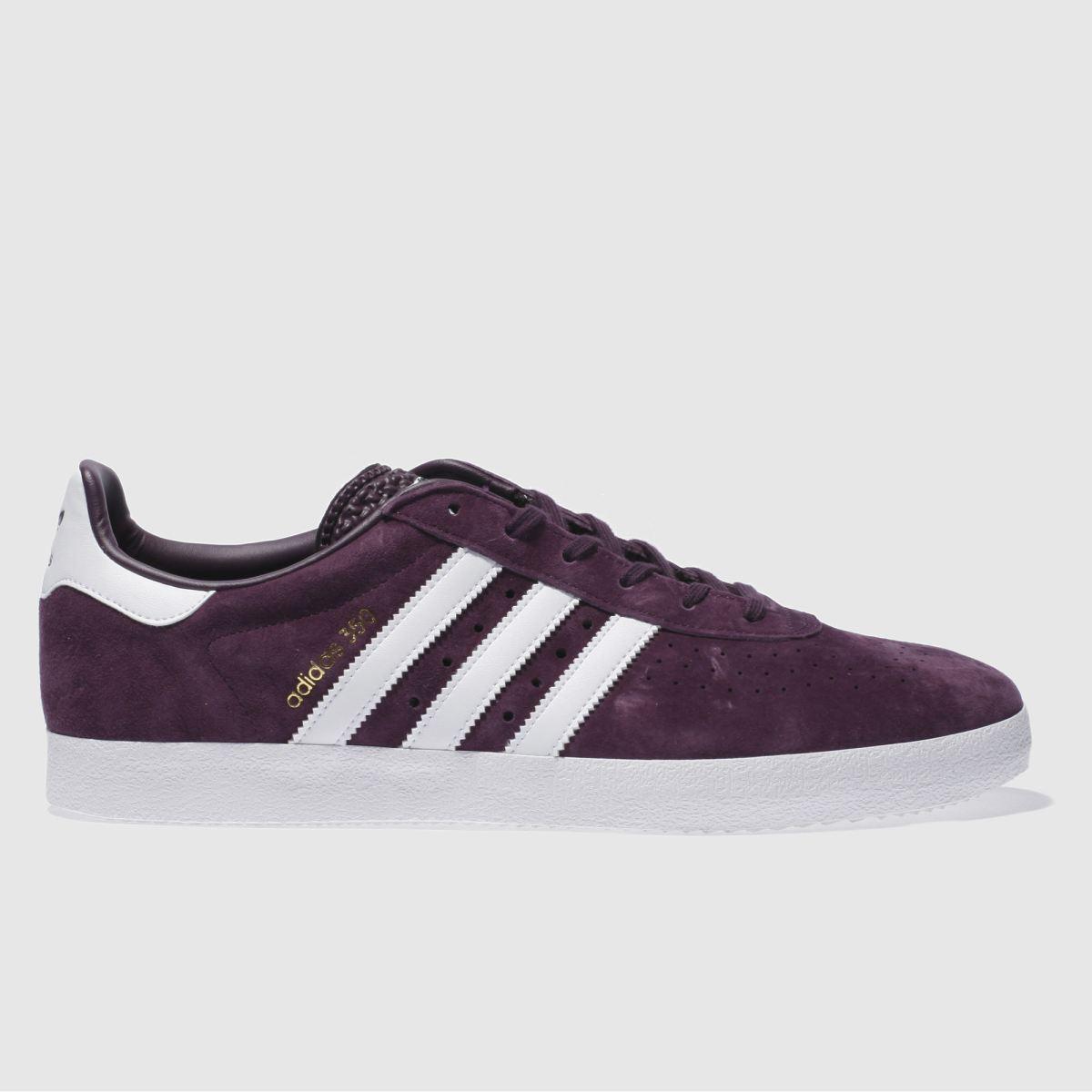adidas purple 350 trainers