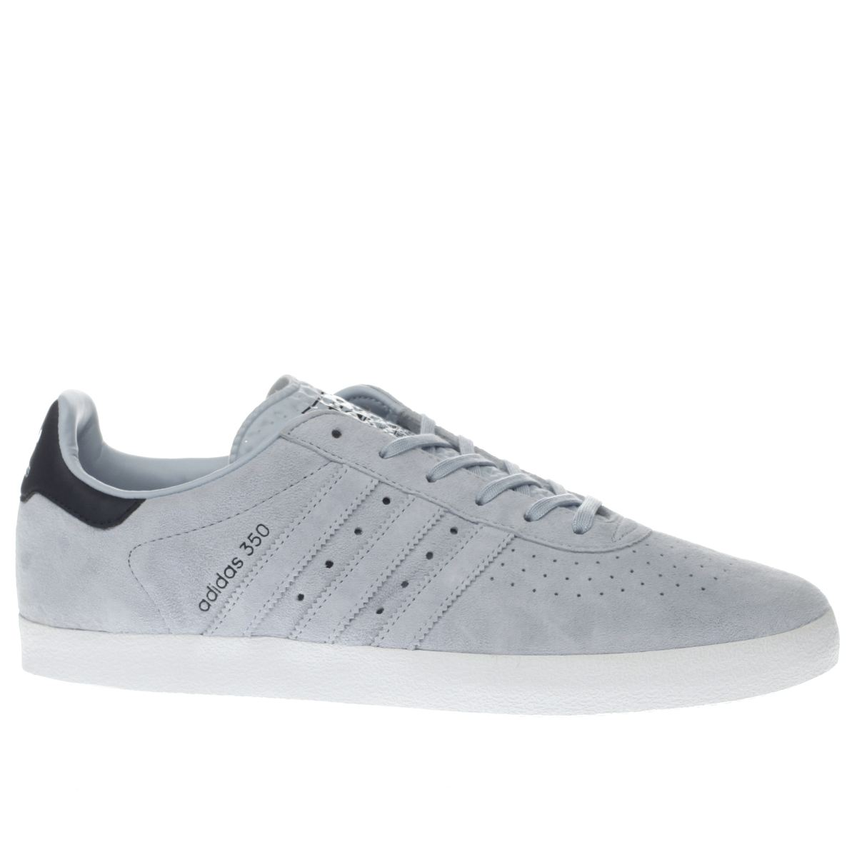 adidas pale blue 350 trainers
