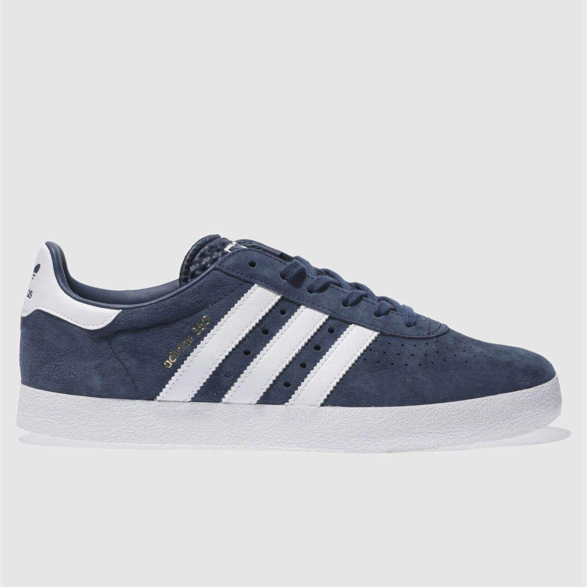 Adidas Navy & White 350 Trainers