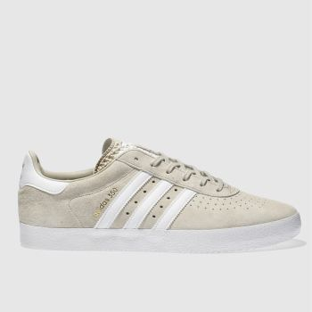 Adidas Beige 350 Mens Trainers