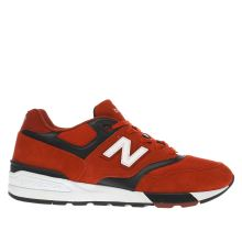 New Balance Red 597 Mens Trainers