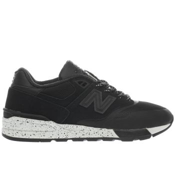 New Balance Black 597 Mens Trainers