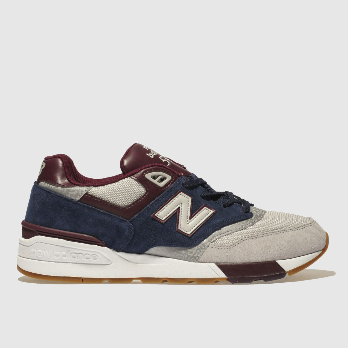 New Balance Navy & Grey 597 Trainers