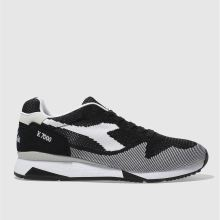 Diadora Black & White V7000 Weave Mens Trainers