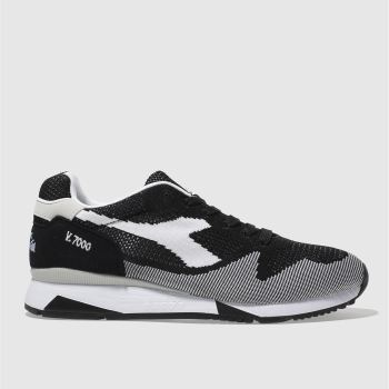 Diadora Black V7000 Weave Mens Trainers