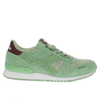 Diadora Green Titan Ii Mens Trainers