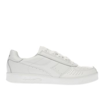 Diadora White B.elite Trainers