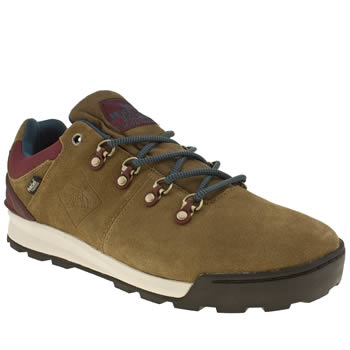 Mens The North Face Brown Back To Berkeley 84 Low Trainers