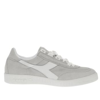 Diadora Light Grey B-original Trainers