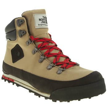 Mens The North Face Tan Back To Berkely Boots