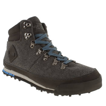 The North Face Dark Grey Back To Berkeley Boot Se Boots