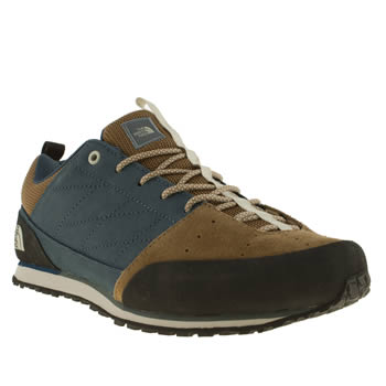 mens the north face  blue scend trainers