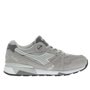 Diadora Grey N9000 Iii Trainers