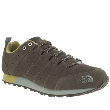 The North Face Dark Green Hedgehog Retro Sneaker Trainers
