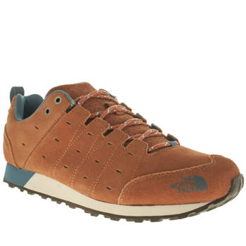 The North Face Brown Hedgehog Retro Sneaker Trainers