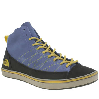 The North Face Blue Base Camp Approach Mid Trainers