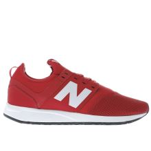 New Balance Red 247 Mens Trainers