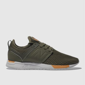New Balance Khaki 247 Mens Trainers