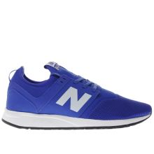 New Balance Blue 247 Mens Trainers