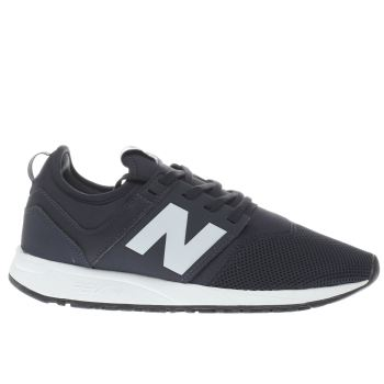 New Balance Navy 247 Trainers