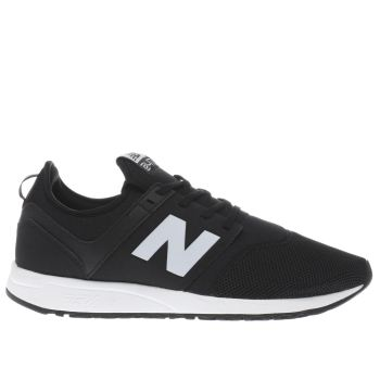 New Balance Black & Grey 247 Trainers