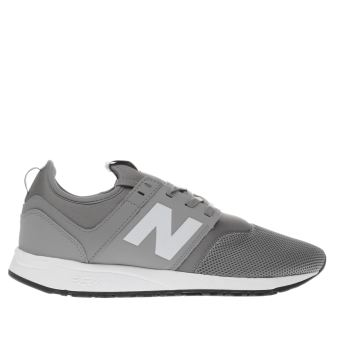New Balance Grey 247 Mens Trainers
