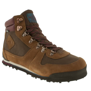 Mens The North Face Brown Back To Berkeley 68 Trainers