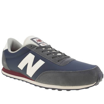 Mens New Balance Navy 410 Trainers