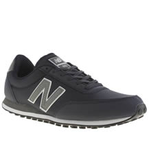 New Balance Navy 410 Mens Trainers