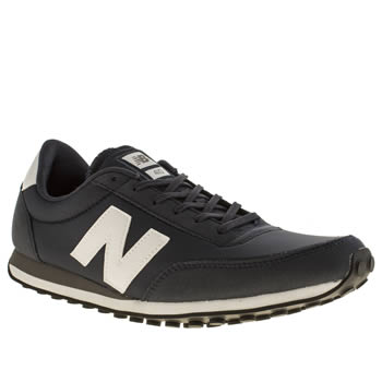 Mens New Balance Navy & White Nb 410 Trainers