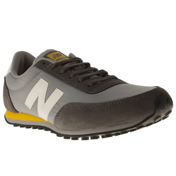 mens new balance light grey 410 trainers