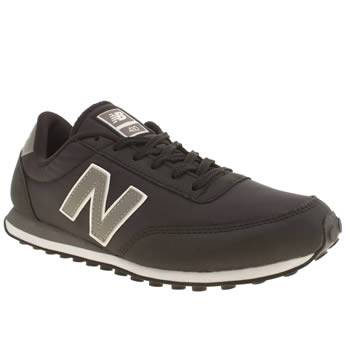 New Balance Black & Grey 410 Trainers