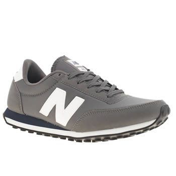Mens New Balance Grey 410 Trainers
