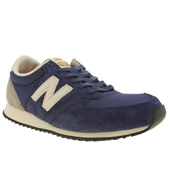 Mens New Balance Blue 420 Trainers
