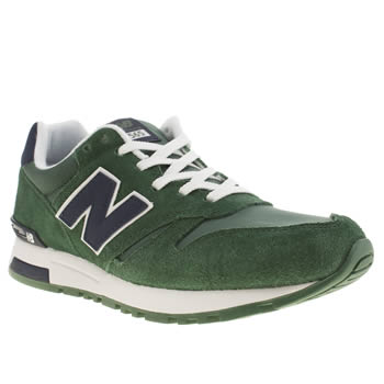mens new balance green 565 trainers