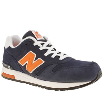 Mens New Balance Navy 565 Trainers